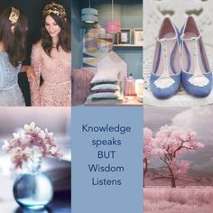 Knowledge Speaks But Wisdom Listens Beautiful Collage, Beautiful Words, I Need A Hobby, Quote Collage, Collages, Colour Pallete, Color Palettes, Color Schemes, Mood Colors