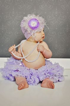 Lavender Baby & Pearls