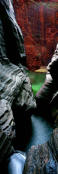 Emerald Chasm, Washington; photo by .Ken Duncan