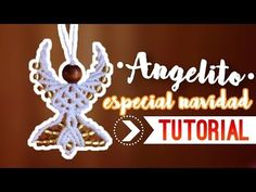 Angelito / ♥︎ Tutorial de macramé | DIY | Paso a paso - YouTube