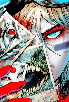 ♦ DC Rebirth Art + Harley Quinn