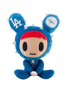 "tokidoki x MLB Dodgers 8"" Cactus Friends Dusty Plush"