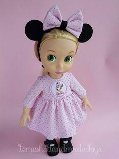 Disney Animator Puppen Kleidung. Kleid und von LemeshHandmadeToys