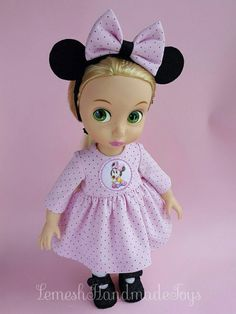 Hey, I found this really awesome Etsy listing at https://www.etsy.com/ru/listing/274617452/disney-animator-dolls-clothes-doll
