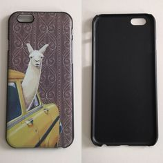 """iPhone 6 PLUS NEW 'Llama Cabbie'   Fits 5.5"""" iPhone 6 PLUS & iPhone 6S PLUS  Hardcase  NO LIP  Covers back and sides  Comes with screen protector Accessories Phone Cases"""