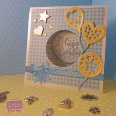 Good morning! Today I am sharing a card which I made using Crafter's Companion Sara Signature Birthday Party Collection, which...