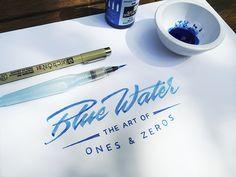 Blue Water by Matt Vergotis