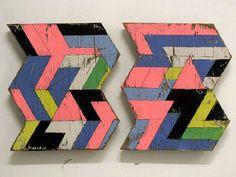 Geometric Wooden Sculptures by Aaron Moran (via Design Milk)