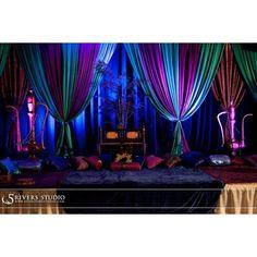 Arabian Nights themed wedding event found on Polyvore