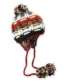 Take a look at this Camel Foehn Chullo Pom-Pom Earflap Beanie by ADORA on #zulily today! $10 !!