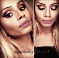 Blending is key 😀 #makeup #india #brownskin