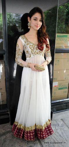 Tamanna in white designer suit buy online
