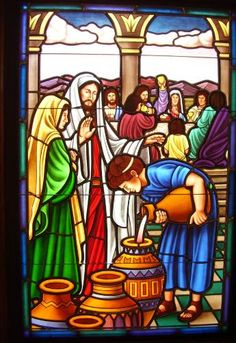 Stained Glass Windows at Three Springs United Methodist Church in Bristol, VA