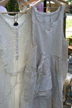 Magnolia Pearl French Linen Farmdress