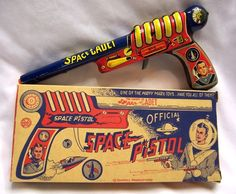 1951 Marx Tom Corbett Space Cadet Space Pistol Original Box | eBay