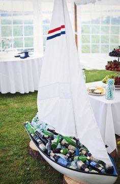 40 ideas para tener una boda de estilo marinero. ¡Toma nota y triunfa! Image: 20