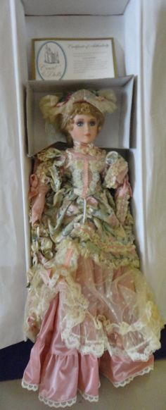 Vintage Victorian Porcelain Doll Alexis By Court by tennesseehills, $100.00