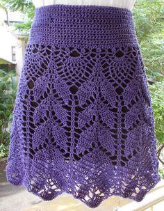 Sweet Nothings Crochet: SIMPLY LOVELY SKIRT