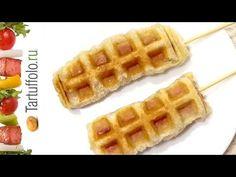 7 интересных РЕЦЕПТОВ для ВАФЕЛЬНИЦЫ - YouTube Waffles, Breakfast, Food, Youtube, Waffle, Hoods, Meals, Youtubers