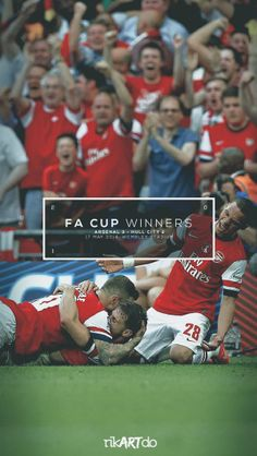 FA CUP WINNERS 2014 by Ricardo Mondragon, via Behance Arsenal Football, Arsenal Fc, Arsenal Pictures, Arsene Wenger, Hull City, Graphic Projects, Fa Cup, Soccer, Athletics