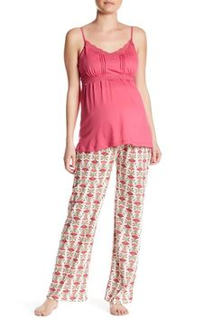 Nursing Pajama Set (Maternity) by Belabumbum on @nordstrom_rack