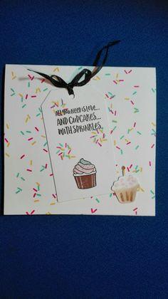 Verjaardagskaart. Renate