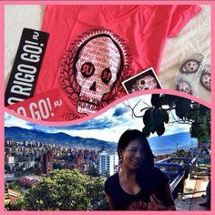 Wow una locura! Gracias @rigobertouran por mis regalos están divinos @RigoStore Michy Durango