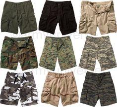 ArmyUniverse Camouflage/Solid Color Vintage Paratrooper Cargo Shorts #ParatroopShorts #Paratrooper #CargoShorts #Shorts #VintageClothes