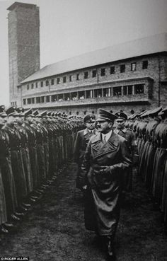 "The Vogelsang Complex, Nazi-University where the so called ""Junkers"" were schooled as future Nazi leaders"