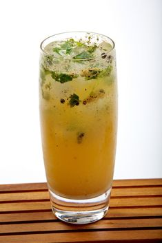 This fun drink is a perfect accompaniment to spicy street food.
