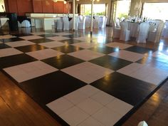 Dance floor supplied by the venue. we can put a vynil with 24.com on it
