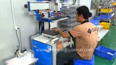 Screen printing machine for phone case