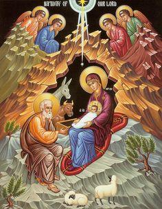 Orthodox Nativity Scene