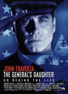 The Generals Daughter, filmed in Savannah, GA.. released in 1999..was able to watch some of the filming of this movie.