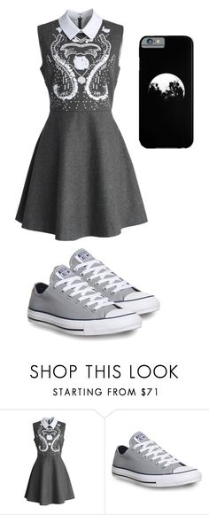 """""""My Style 9"""" by oreo-chan ❤ liked on Polyvore featuring Chicwish and Converse"""