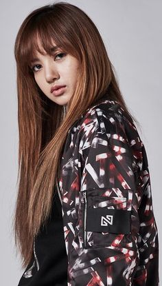 Lisa with long brown hair