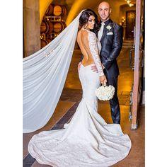 natalieevamarie's photo on Instagram  Her wedding dress was gorgeous!