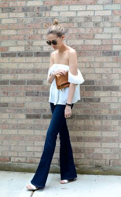 Remember to keep outfits balanced. When wearing a fitted silhouette on the top ideally the bottom has volume. www.stylestaples.com.au