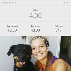 Saturday morning run! My phone died right at 3.95 miles so I had to do a manual log of my run this morning  I still ran with my little buddy and we are EXHAUSTED! After spending this week in Topeka the elevation in Denver really hurt this morning!  I do my usual PiYo warm up before my run and it's been amazing! A perfect amount of stretching and warming up my muscles  #lowcarb #lowcarblife #lowcarbs #lowcarblifestyle #highprotein #lowcarbeating #getfit #glutenfree #fitness #weightloss…