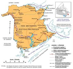 If you& visiting Canada, understanding the geography of the country is essential to planning your trip. Discover more through these 20 regional maps. New Brunswick Map, New Brunswick Canada, Perth, Sainte Claire, Discover Canada, Saint Laurent, Visit Canada, St Lawrence, Prince Edward Island