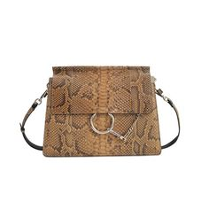 Chloé Sac Faye Medium Clutch Python Need Money a03c8ba56a9