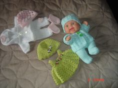 "8"" baby doll clothes"