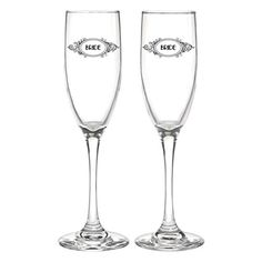 Hortense B Hewitt Wedding 24498 Accessories Fancy Filigree Champagne Flutes Set of 2 * Click image to review more details.