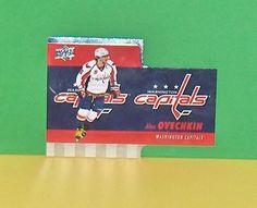 Alex Ovechkin  TH-7  Die Cuts Tim Hortons Upper Deck Hockey #WashingtonCapitals
