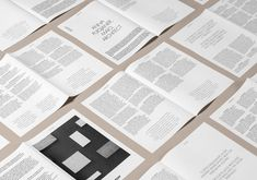 Graphic identity and newsprint by Clase bcn for Italian furniture company Arber