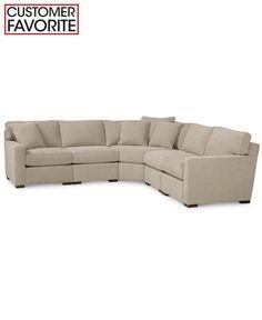 Radley 86 Quot Fabric Sofa Created For Macy S Radley
