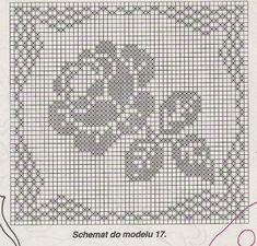 Filet rose ❤️LCD-MRS❤️ diagram only.