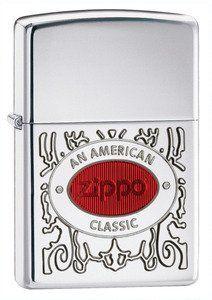 Zippo Lighter Zippo American Classic, Armor High Polish Chrome by Zippo. Save 41 Off!. $34.47. Zippo Lighters - An American Classic Lighter Features Armor Case with High Polish Chrome Finish. Model: ZO28069.
