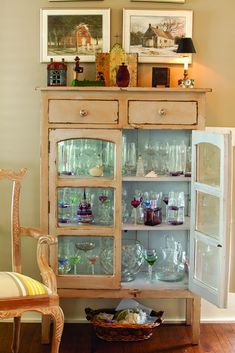 Garden Home glass cabinet