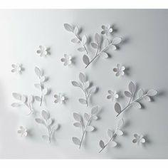 White Flower Wall Decor umbra wall decor | walls need love | pinterest | wall decor, walls